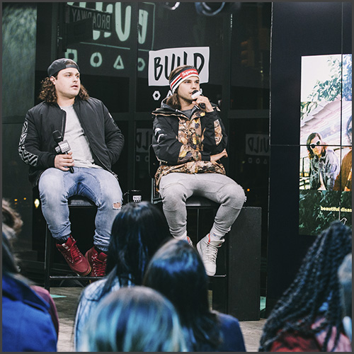 DVBBS, AOL Build, Katie van Buren, Interview, New York, News