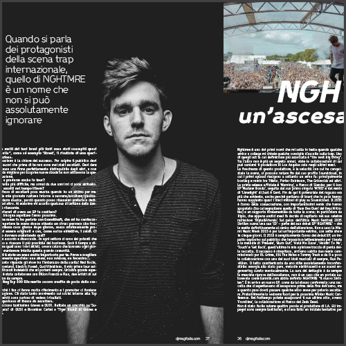 NGHTMRE, DJ Mag, Italy, Feature, News
