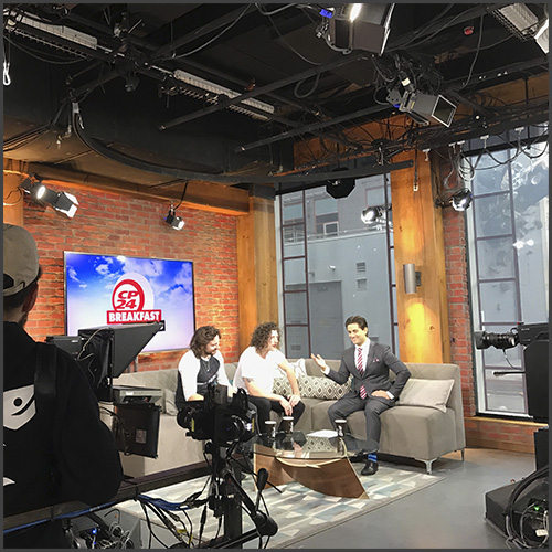 Peking Duk, CP24 Breakfast, Morning Show, Live TV, Interview, News