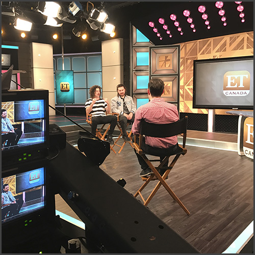 Peking Duk, ET, ET Canada, Entertainment Tonight, Interview, TV, News
